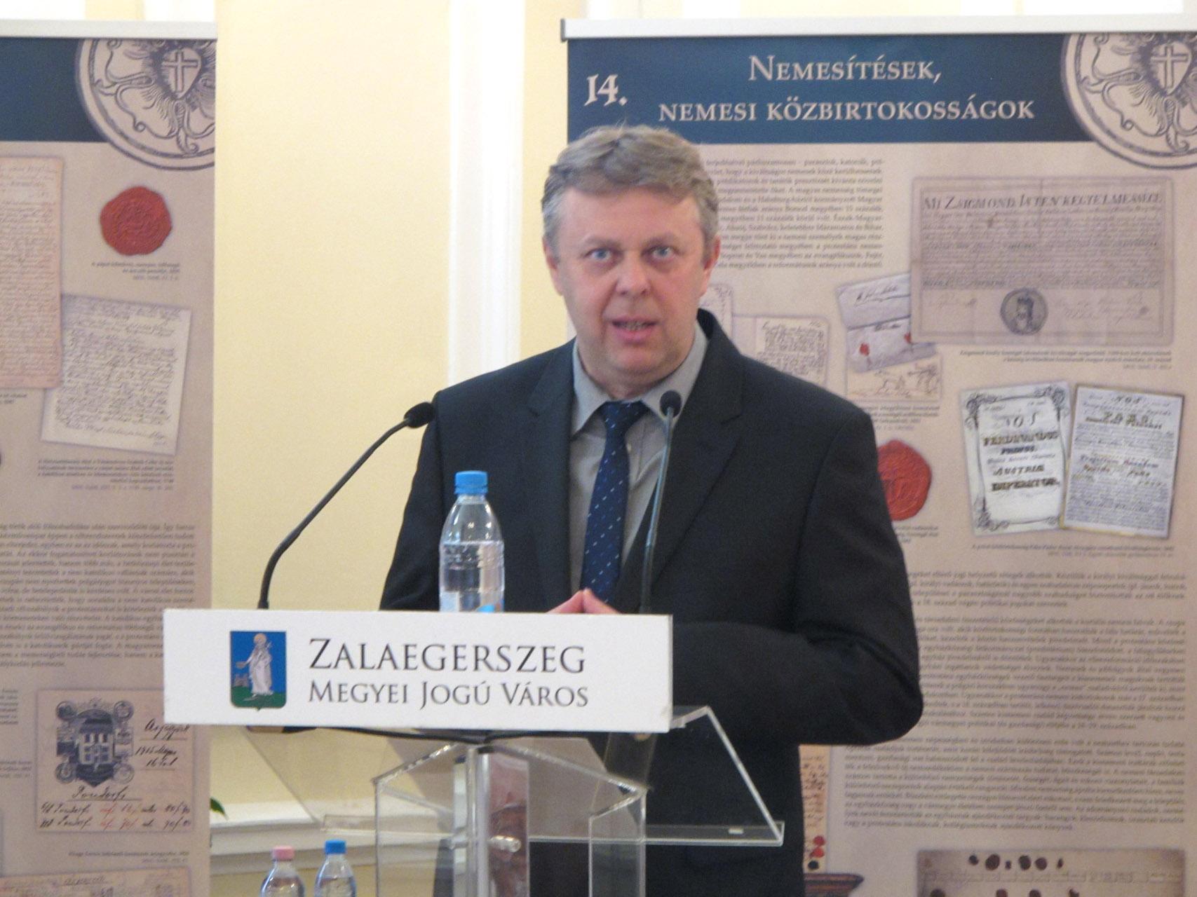 A protestantizmus zalai évszázadai tudományos emlékülés, Zalaegerszeg, 2017.10.11.