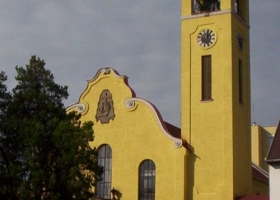 Eger első protestáns templomának terve