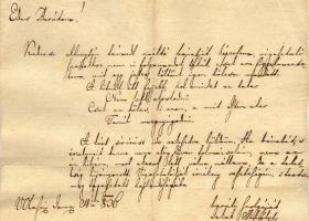 """""""A kért sír írást ide rekesztve küldöm."""" – Jakab Mihály, Bihar vármegye levéltárnoka által írt sírvers"""