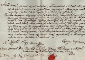 Egy zalai református házaspár házasság felbontása előtt kötött egyezsége 1793-ból