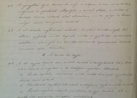 A nyíregyházi evangélikus tanítókör alapszabályai 1873-ból