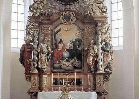 Aszódi Evangélikus Templom oltára
