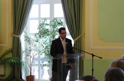 Dr. Wencz Balázs, az MNL KEM Levéltár igazgatója