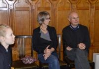 A Melanchthon Schule Márton-napi látogatása az Országos Levéltárban