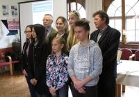 """Az """"Utazás Wittenbergbe"""" reformációs verseny Zala megyei fordulójának díjátadója Zalaegerszeg, 2017.04.05"""