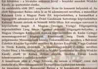 Felavatták Hőnel Béla evangélikus építész, ipartestületi elnök emléktábláját Mosonmagyaróváron