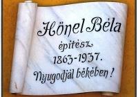 Hőnel Béla evangélikus építész