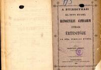 Nyíregyházi_ÁG_HIT_EV_értesítő_1881_1882
