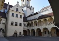 A városháza belső udvara