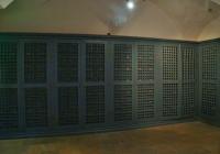 A városi levéltár régi szobája