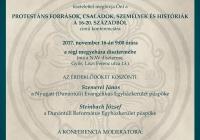 Protestáns források, családok, személyek és históriák a 16-20. századból