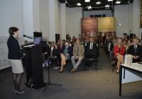 Apáti Anna Zita, a pedagógiai munkacsoport vezetőjének prezentációja
