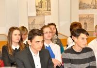 """""""Utazás Wittenbergbe"""" verseny megyei fordulójának díjátadója"""
