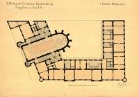 Az 1. emelet alaprajza
