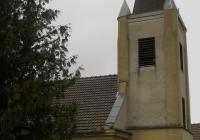 A református templom oldalnézete (Fotó: Kovály Erzsébet nagytiszteletű lelkész asszony)