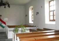 A templom belseje (Fotó: Kovály Erzsébet nagytiszteletű lelkész asszony)