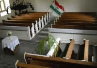 Templombelső a karzatról (Fotó: Kovály Erzsébet nagytiszteletű lelkész asszony)