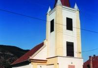 A dömösi református templom 2001-ben (Fotó: Boros György)