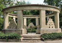 Jókai Mór síremléke Budapesten
