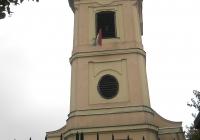 A pilismaróti református templom tornya (Fotó: Kovály Erzsébet nagytiszteletű lelkész asszony)