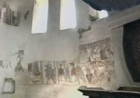 A szalonnai református templom  XIII.  századbeli falfestménye