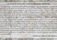 Farbakyné Deklava Lilla művészettörténész a templomot bemutató művészettörténeti tanulmánya