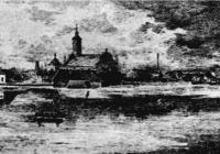 Békéscsabai Evangélikus Nagytemplom az árvíz idején