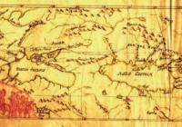 A honfoglalás útvonalát ábrázoló térképe