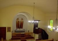 Budapest - Rákoshegyi Evangélikus Templom - oltár