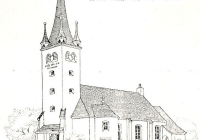 Budapest - Rákoshegyi Evangélikus Templom - tervrajz