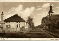 Darányi református templom - képeslap