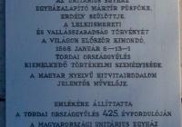 Dávid Ferenc emléktábla Budapest