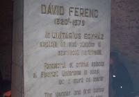 Dávid Ferenc emlékmű