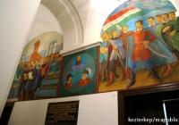 Debrecen - Gáborjáni Szabó Kálmán  freskósorozata