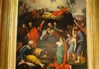 Hosszú, aprólékos restaurálási munka után végre elkészült a domonyi gyülekezet adományaként az Evangélikus Országos Múzeumba került oltárkép