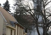 Evangélikus templom, parókia és gyülekezeti terem Sárszentlőrincen