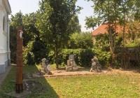 Füzesgyarmati Unitárius Templom - templomkert