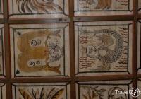 Gyügyei Református Templom belső tere - kazetták