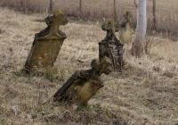 Az evangélikus temető régi keresztjei nádasdi stílusúak