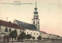 Evangélikus templom Miava