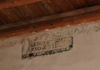 Lovászpatona Evangélikus Templom - belső feliratok