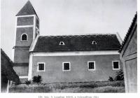 Lovászpatona Evangélikus Templom -a helyreállítás előtt