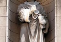 Luther-szobor közelebbről