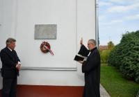 Lelbach Keresztély emléktáblája
