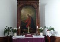 A pécsi evangélikus templom oltárképe