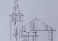 Siófok  Református Templom - a legutolsó terv