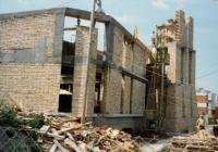 Siófok  Református Templom - építkezés