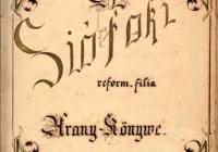 Siófok  Református Templom - legrégebbi anyakönyv