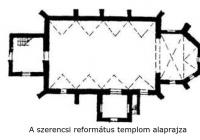 A templom alaprajza