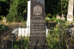 Schád Boldizsár evangélikus lelkész síremléke
